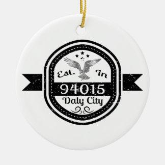Ornement Rond En Céramique Établi à 94015 Daly City
