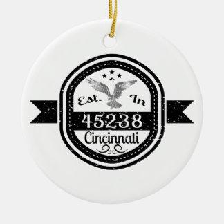 Ornement Rond En Céramique Établi dans 45238 Cincinnati