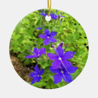 Ornement Rond En Céramique flower6.JPG