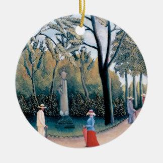 Ornement Rond En Céramique Henri Rousseau - les jardins du luxembourgeois