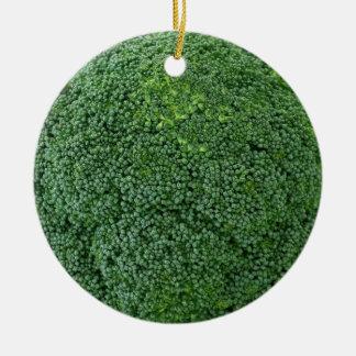 Ornement Rond En Céramique image végétale végétalienne saine délicieuse de