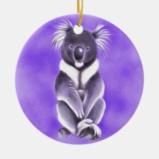 Ornement Rond En Céramique Koala de Bouddha