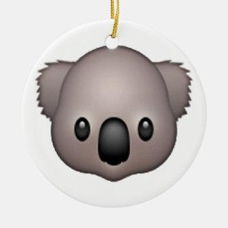 Ornement Rond En Céramique Koala - Emoji