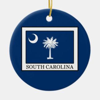 Ornement Rond En Céramique La Caroline du Sud