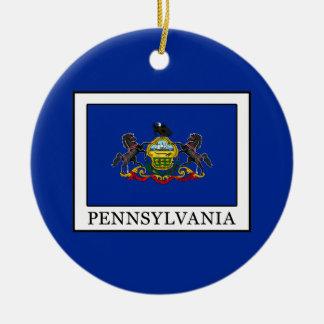 Ornement Rond En Céramique La Pennsylvanie