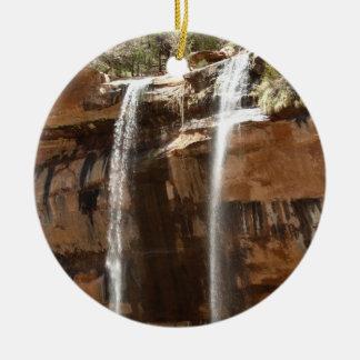 Ornement Rond En Céramique La piscine verte tombe IV du parc national Utah de