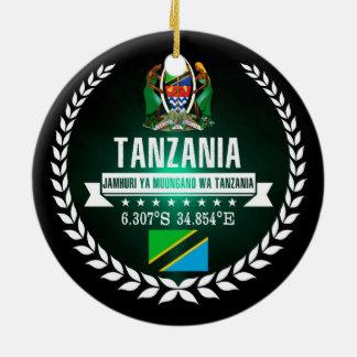 Ornement Rond En Céramique La Tanzanie
