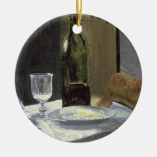 Ornement Rond En Céramique La vie de Claude Monet | toujours avec des