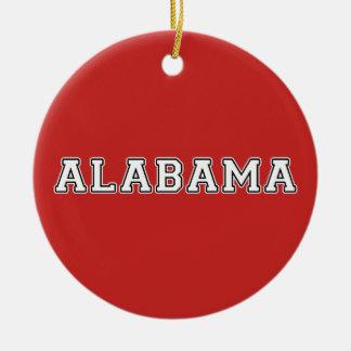 Ornement Rond En Céramique L'Alabama