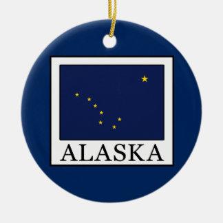Ornement Rond En Céramique L'Alaska