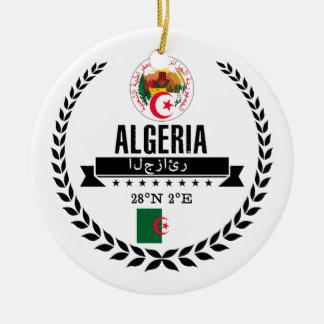 Ornement Rond En Céramique L'Algérie