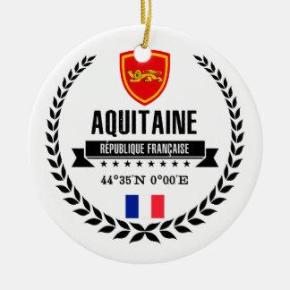 Ornement Rond En Céramique L'Aquitaine