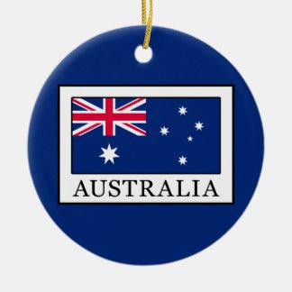 Ornement Rond En Céramique L'Australie