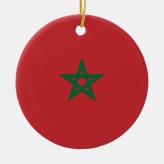 Ornement Rond En Céramique Le Maroc