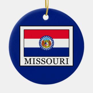 Ornement Rond En Céramique Le Missouri