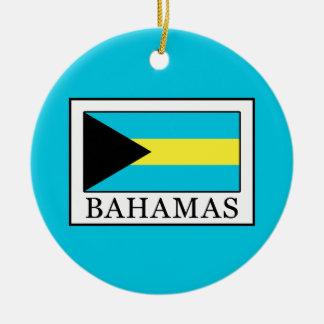 Ornement Rond En Céramique Les Bahamas