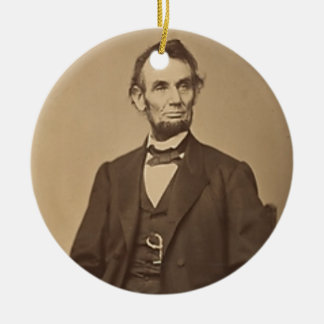 Ornement Rond En Céramique Lincoln
