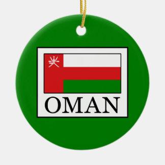 Ornement Rond En Céramique L'Oman