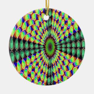 Ornement Rond En Céramique MODÈLE do-it-yourself de couleur d'image des