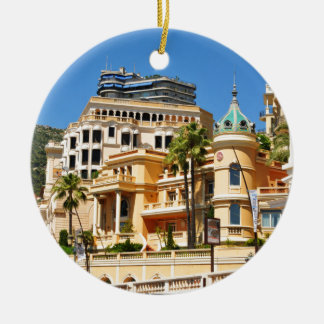 Ornement Rond En Céramique Monte Carlo au Monaco