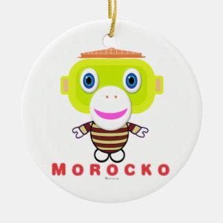 Ornement Rond En Céramique Morocko