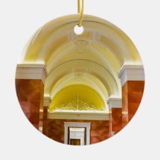 Ornement Rond En Céramique Musée d'ermitage d'état St Petersburg Russie