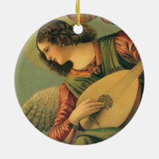 Ornement Rond En Céramique Musicien d'ange, Melozzo DA Forli, art de