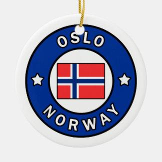 Ornement Rond En Céramique Oslo Norvège