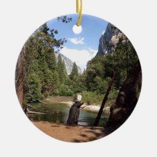 Ornement Rond En Céramique Parc national des Rois Canyon