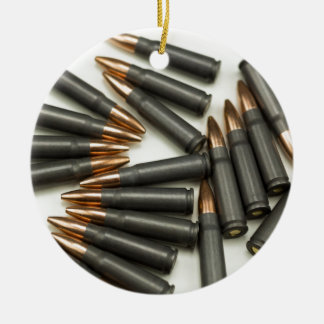 Ornement Rond En Céramique point creux des munitions 7.62x39mm de munitions