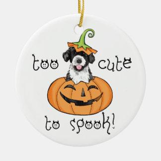 Ornement Rond En Céramique PWD de Halloween