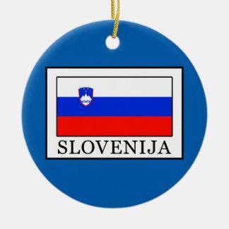 Ornement Rond En Céramique Slovenija