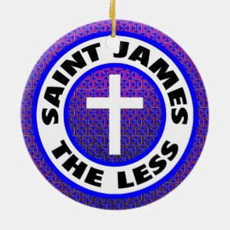 Ornement Rond En Céramique St James moins