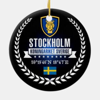 Ornement Rond En Céramique Stockholm