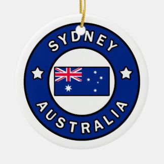 Ornement Rond En Céramique Sydney Australie
