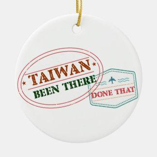 Ornement Rond En Céramique Taïwan là fait cela