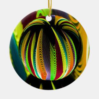 Ornement Rond En Céramique Variation ColoursI de boule