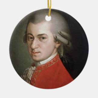 Ornement Rond En Céramique Wolfgang Amadeus Mozart