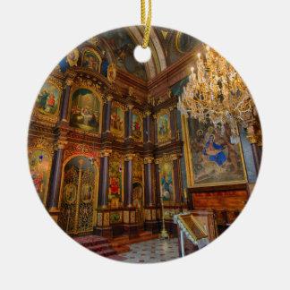 Ornement Rond En Céramique Zur Heiligen Dreifaltigkeit de Griechenkirche