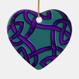 Ornement sans fin celtique de noeud de coeur