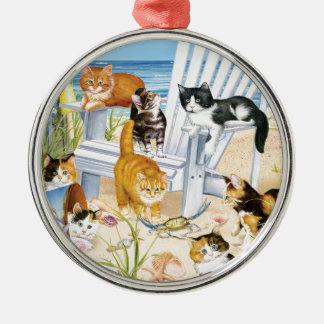 Ornement sans valeur de chatons de plage