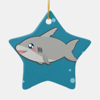 Ornement sharky de Kawaii
