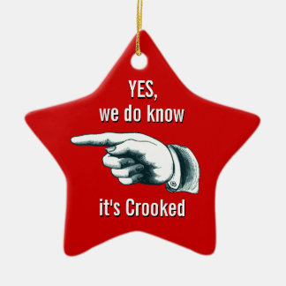 Ornement tordu de cadeau d'arbre de Noël