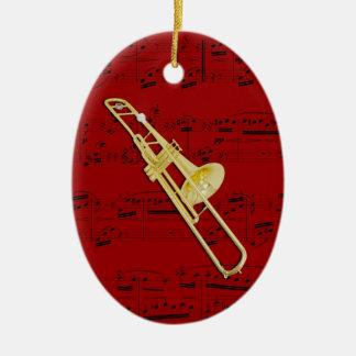 Ornement - trombone (valve) - sélectionnez votre