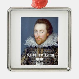 Ornement vintage de Noël de William Shakespeare