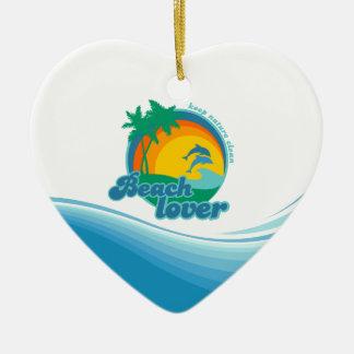 Ornements d'amant de plage
