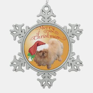 Ornements de Noël de Pekingese
