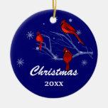 Ornements faits sur commande de Noël d'année et de