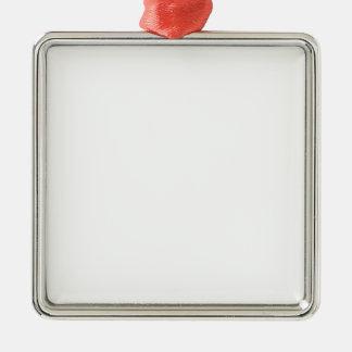 Ornements personnalisés carrés