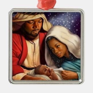 Ornements saints de Noël de famille